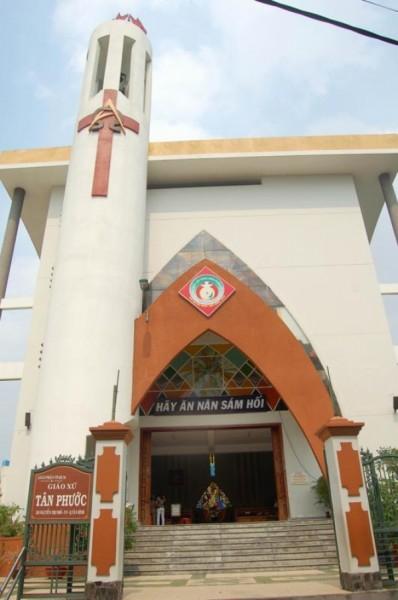 Nhà thờ Tân Phước, Tân Bình, Tp Hồ Chí Minh