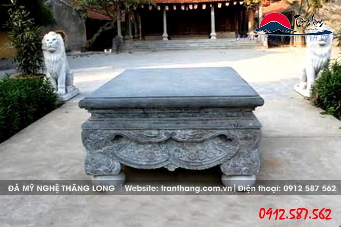 Sập đá nguyên khối thờ cúng tâm linh