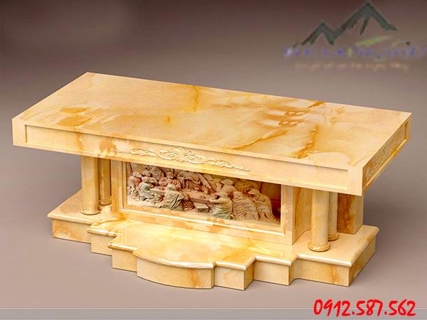 bàn lễ đá vàng công giáo