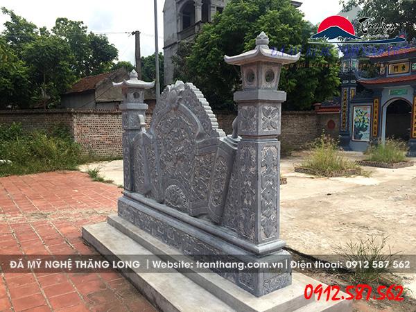 mẫu cuốn thư đá đẹp do Đá Mỹ Nghệ Thăng Long điêu khắc