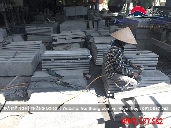 sản xuất bậc thềm đá