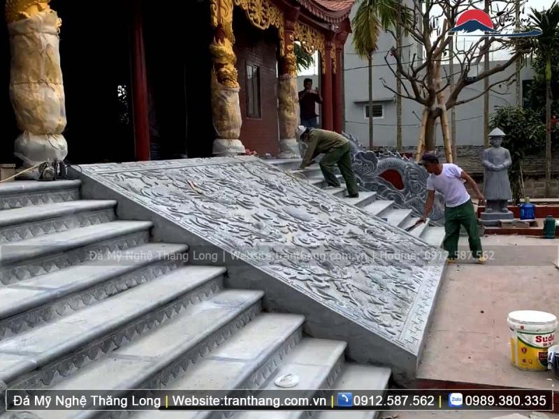Mẫu chiếu đá Cửu Long Tranh Châu