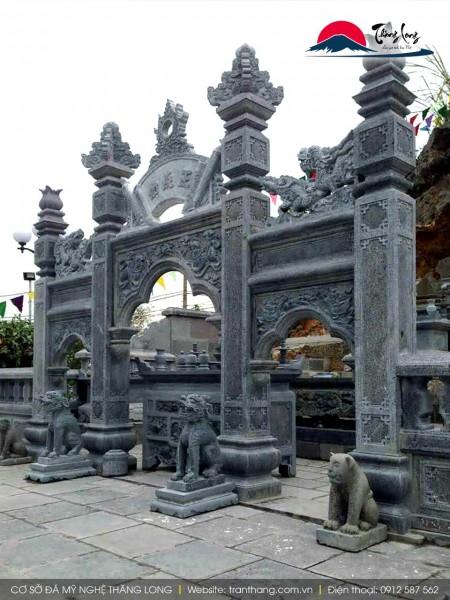 kiến trúc cổng đá