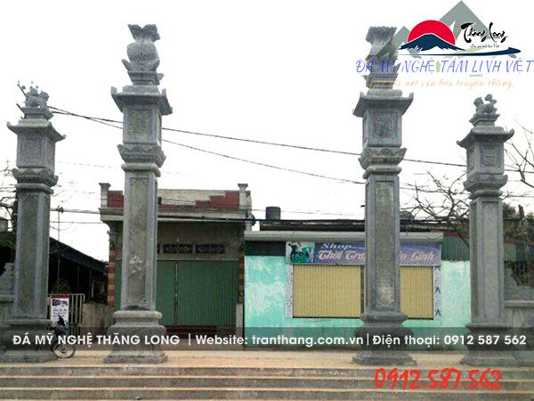 Kiến trúc đá tự nhiên cổng đá ninh vân