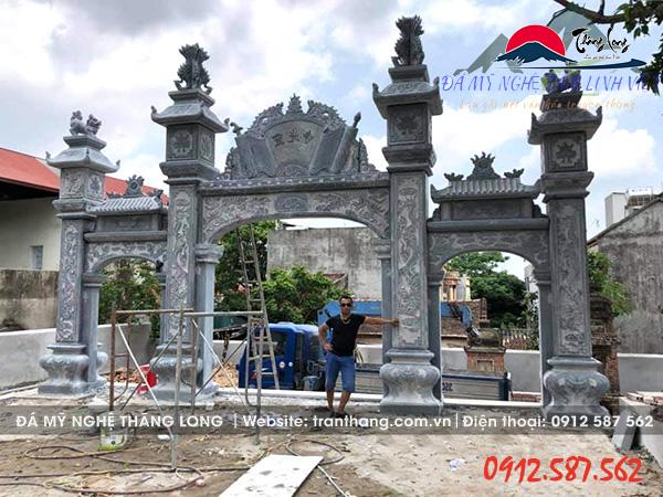 Kiến trúc đá tự nhiên cổng đá tự nhiên