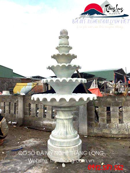 Kiến trúc đá đài phun nước đẹp