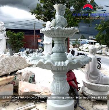 Đá Phong Thủy đài phun nước