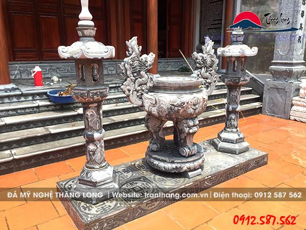 đèn thờ đá | đồ thờ đá phong thủy tâm linh Việt.
