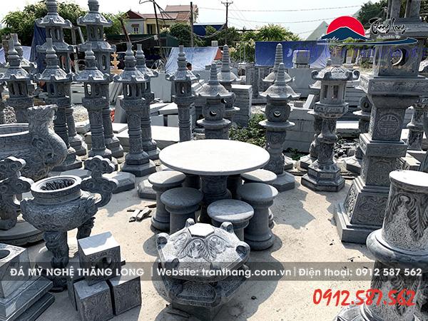 Sản phẩm đồ thờ đá mỹ nghệ Ninh Vân Ninh Bình