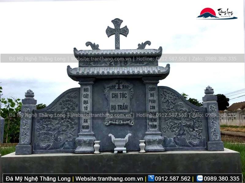 Xây dựng mộ phần cho người đã khuất theo đạo thiên chúa giáo tại Phú Thọ