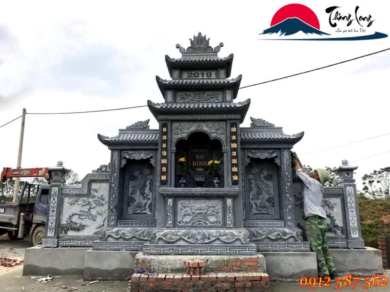 lăng thờ đá đẹp tại Ninh Bình