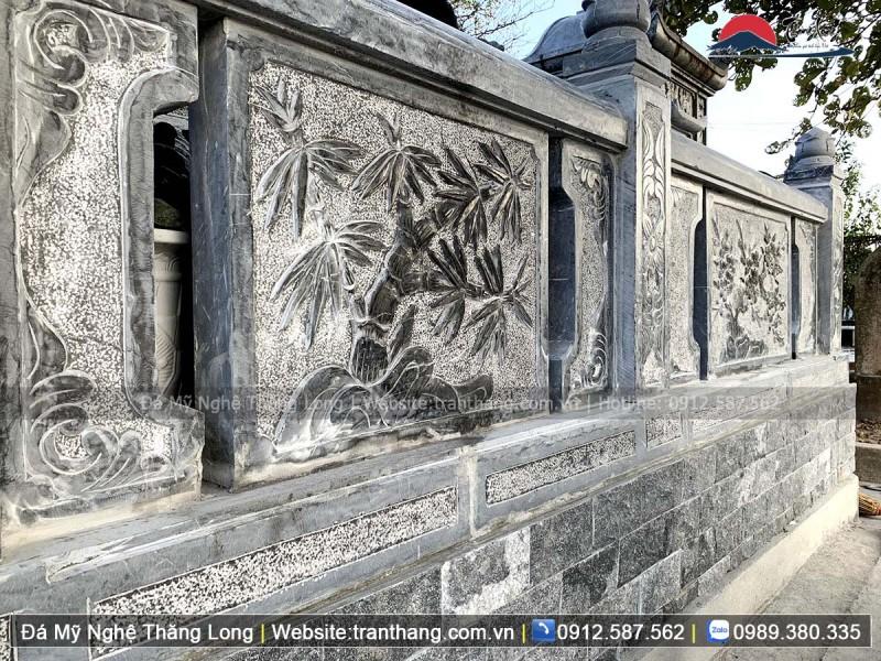 Mẫu lan can đá xanh Thanh Hóa