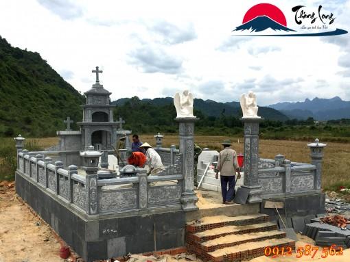 Khu Lăng Mộ Công giáo đẹp mới nhất lắt đặt tại tỉnh Quảng Bình.