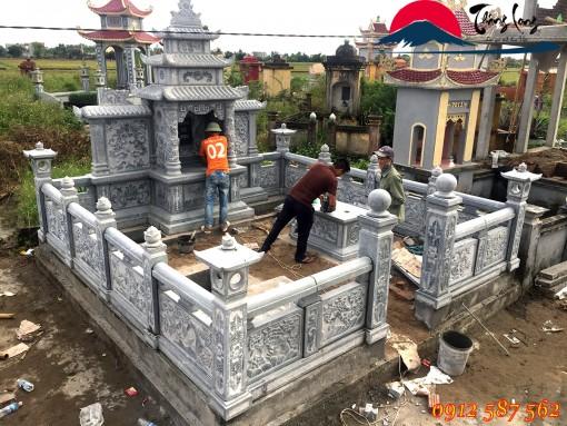 Khu Lăng Mộ đẹp thiết kế hài hòa với đất trời quê hương tỉnh Hà Tĩnh.