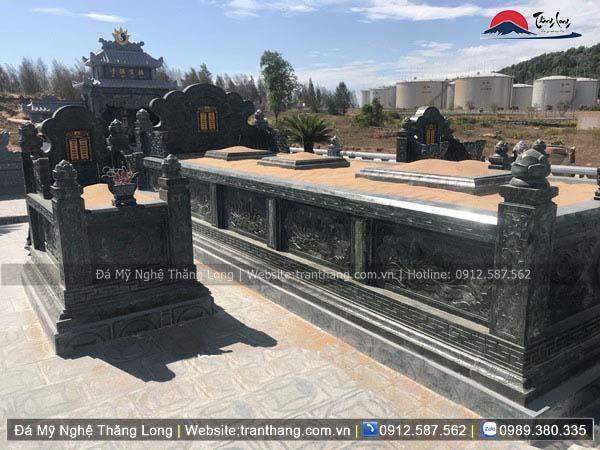 Xây dựng mồ mả bằng đá tại Quảng Nam