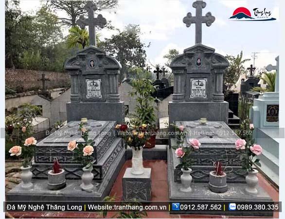 Xây dựng mồ mả bằng đá tại Khánh Hòa