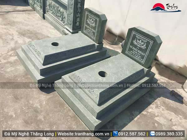 Xây dựng mồ mả bằng đá tại Hà Tĩnh
