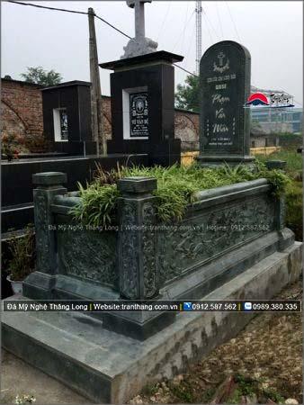 Xây dựng mồ mả bằng đá tại Quảng Bình