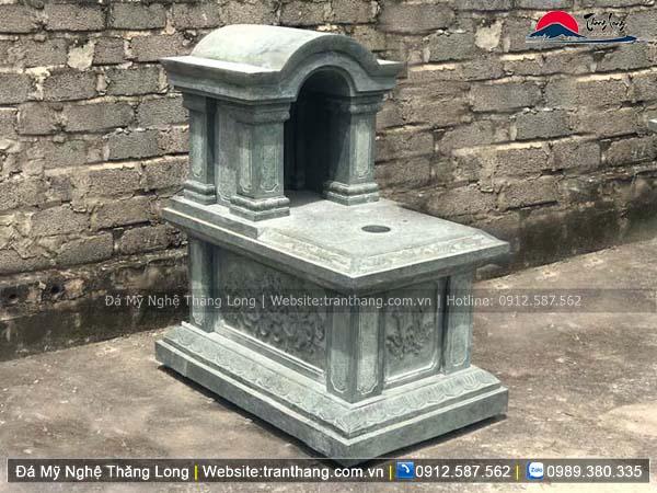 Xây dựng mồ mả bằng đá tại Lào Cai