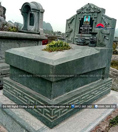 Xây dựng mồ mả bằng đá tại Yên Bái