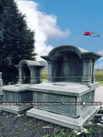 Xây dựng mồ mả bằng đá tại Huế