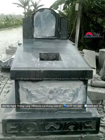 Xây dựng mồ mả bằng đá tại Nghệ An