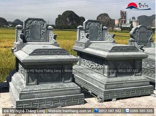 Xây dựng mồ mả bằng đá tại Thanh Hóa