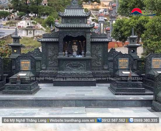 Xây dựng mồ mả bằng đá tại Vĩnh Phúc