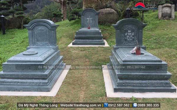 Xây dựng mồ mả bằng đá tại Phú Thọ