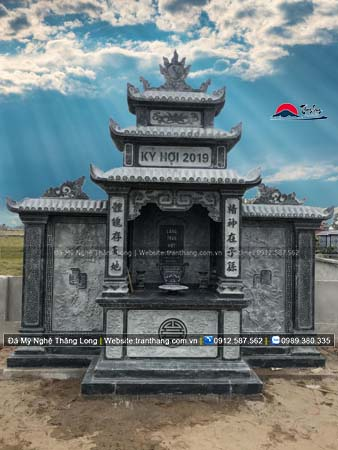 Xây dựng mồ mả bằng đá tại Hòa Bình