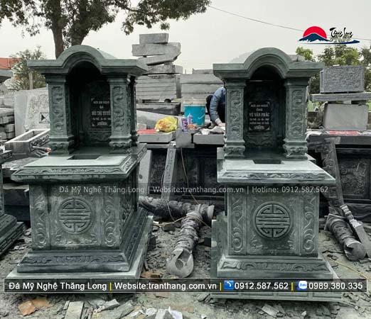 Xây dựng mồ mả bằng đá tại Hưng Yên