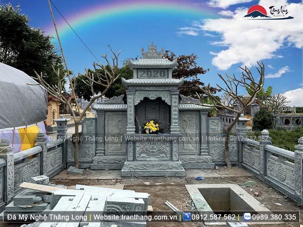Xây dựng mồ mả bằng đá tại Thái Nguyên