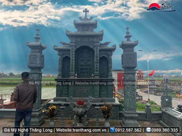 Xây dựng mồ mả bằng đá tại Nam Định