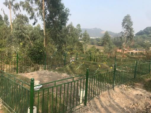 Mộ kết ở Vĩnh Phúc có mạch nước ngầm