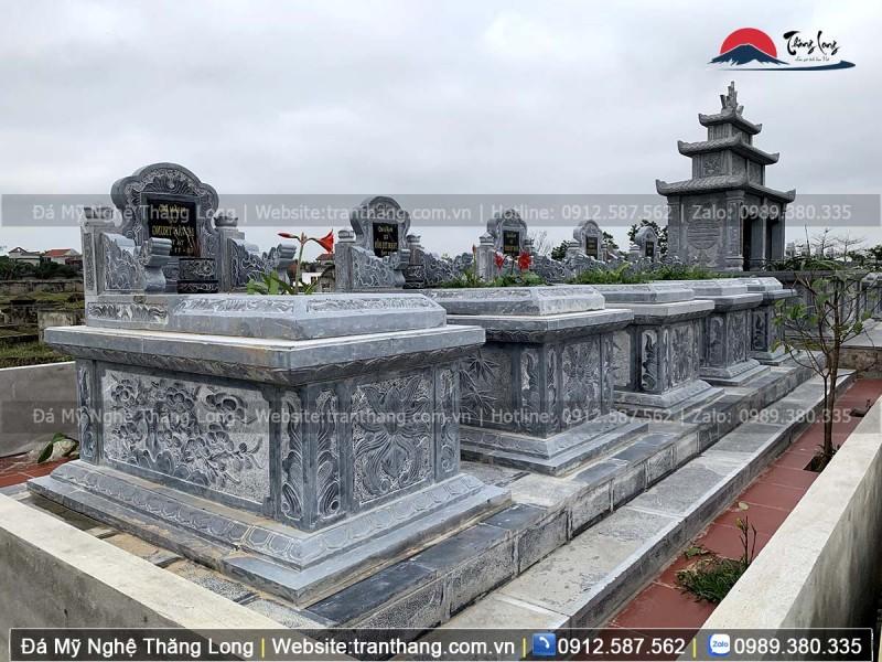 mộ hậu bành trong lăng mộ đá dòng họ