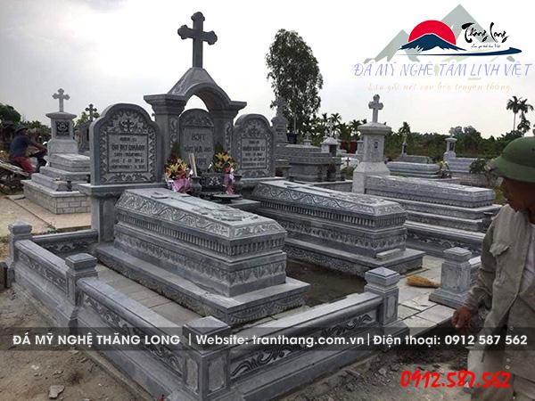 Mộ Đá Công giáo Đẹp | Đá Mỹ Nghệ Tâm Linh Việt