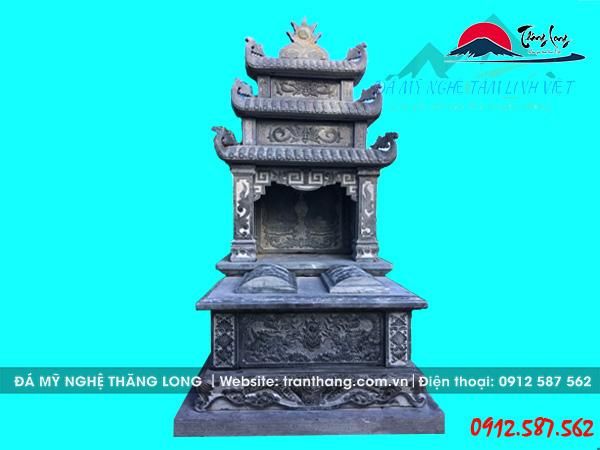 Xây mộ đá 3 mái đao cho gia tiên tại Thái Nguyên, Thanh Hóa, Tuyên Quang