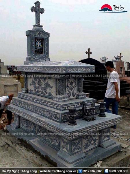 mộ đá Tiền Giang đẹp