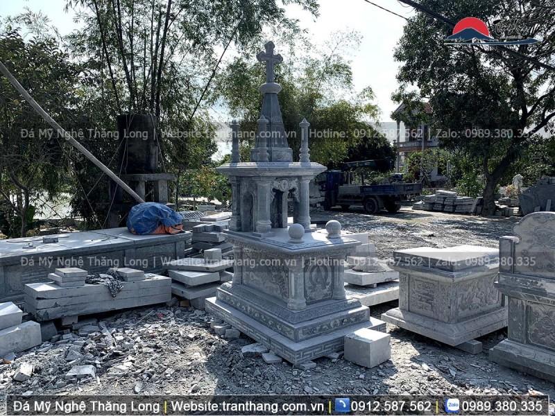 Mộ đá công giáo sản xuất tại Thăng Long
