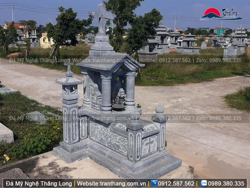 Mẫu mộ công giáo cải táng phần tro cốt