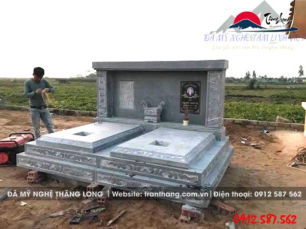 kích thước mộ đôi chuẩn phong thủy