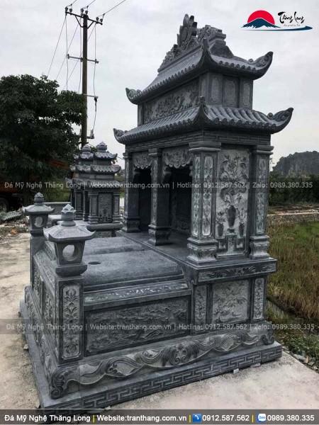 mộ bằng đá xanh