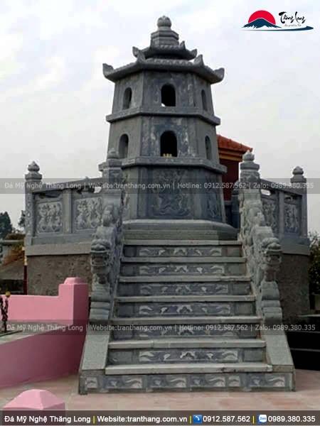 Xây mộ lục lăng