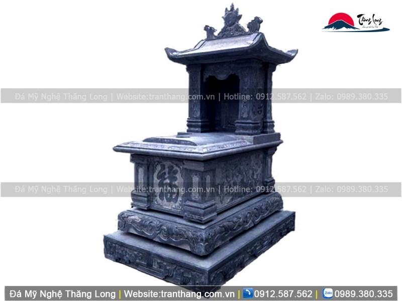 mộ một mái tại Long An, hoa văn rồng