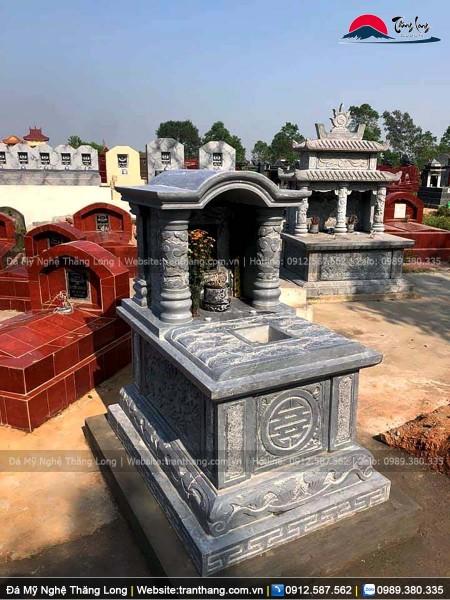 Mẫu mộ một mái vòm được sử dụng phổ biến