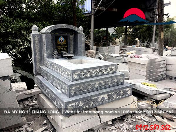 mộ đá tam cấp | Đá mỹ nghệ Thăng Long