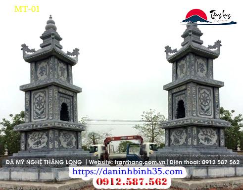 mộ đá tháp | lăng mộ đá phật giáo