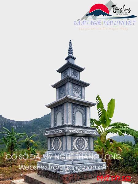 Xây dựng tháp cất cốt tro