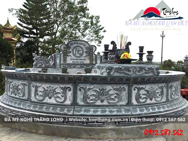 điêu khắc mộ đá tròn tại bà rịa vũng tàu