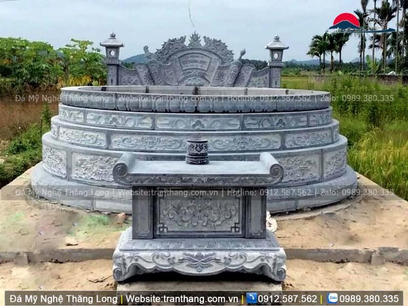mộ tròn đẹp